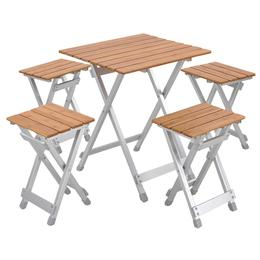 Бамбукова маса за пикник - 4 места