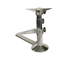 Поставка за седалка алуминий подвижна височина с поставка за крака