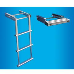 Телескопична стълба от неръждаема стомана за платформа