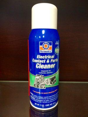 Почиствател за електрически контакти